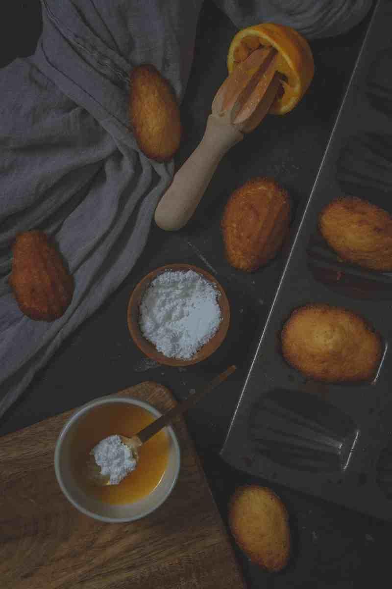 receta de madeleines