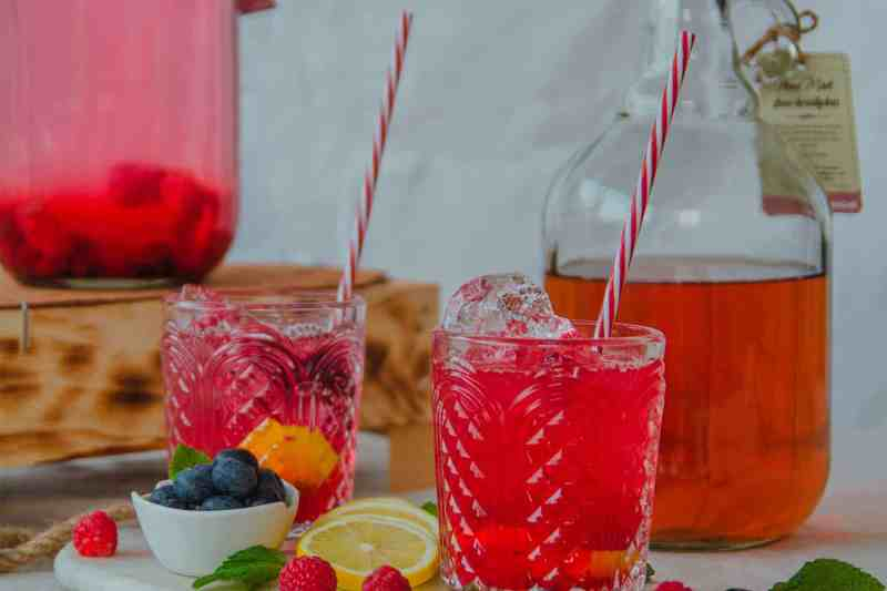 infusion de ginebra y frutos rojos