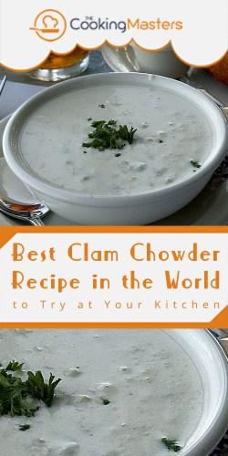 Best clam chowder recipe in the world