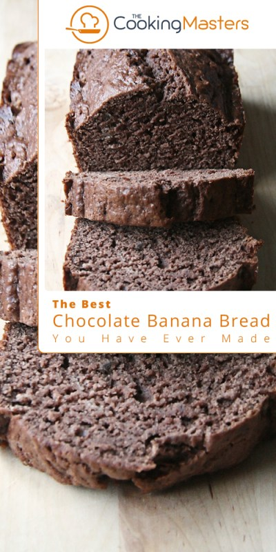 Chocolate banana bread
