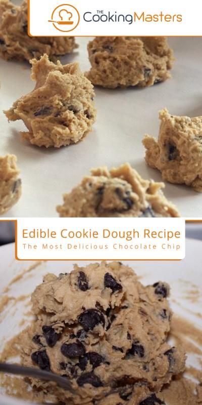 Cookie dough recipe