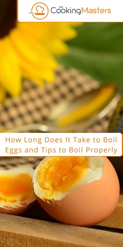 How long does it take to boil eggs