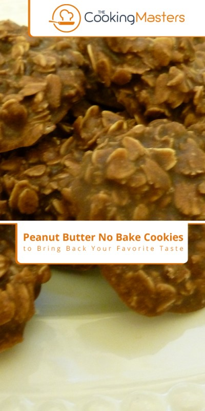 Peanut butter no bake cookies