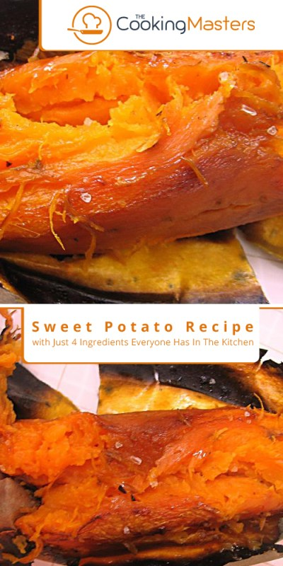 Sweet potato recipe