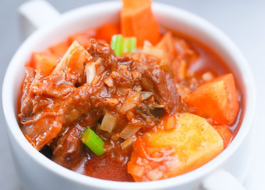 Homemade beef stew recipe