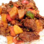 beef caldereta without liver paste