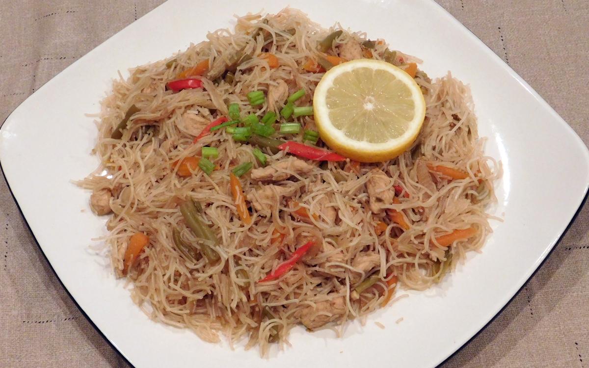 Chicken Pancit Bihon Recipe