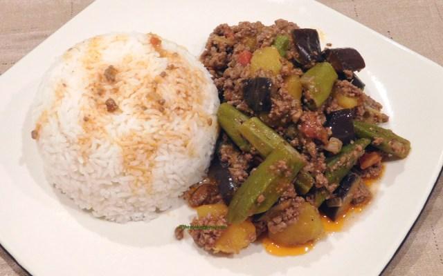 pinakbet mixed vegetable stew without shrimp paste