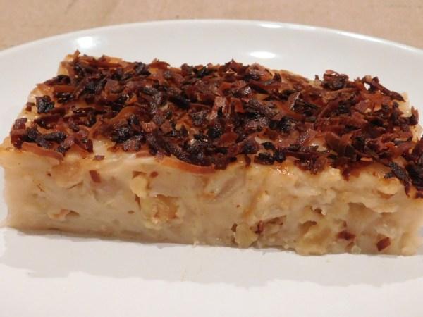 Maja Blanca Recipe (Coconut Milk Pudding)