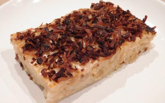 maja blanca with walnuts