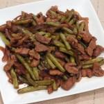 pork and beans adobo - adobong sitaw