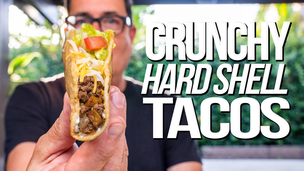 CRUNCHY HARD SHELL TACO FIESTA AT HOME! | SAM THE COOKING GUY