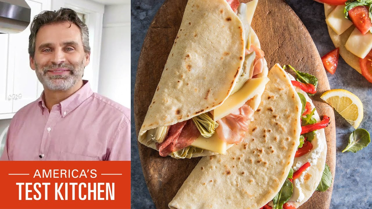 How to Make Acquacotta (Tuscan White Bean and Escarole Soup) and Piadine (Italian Flatbreads)