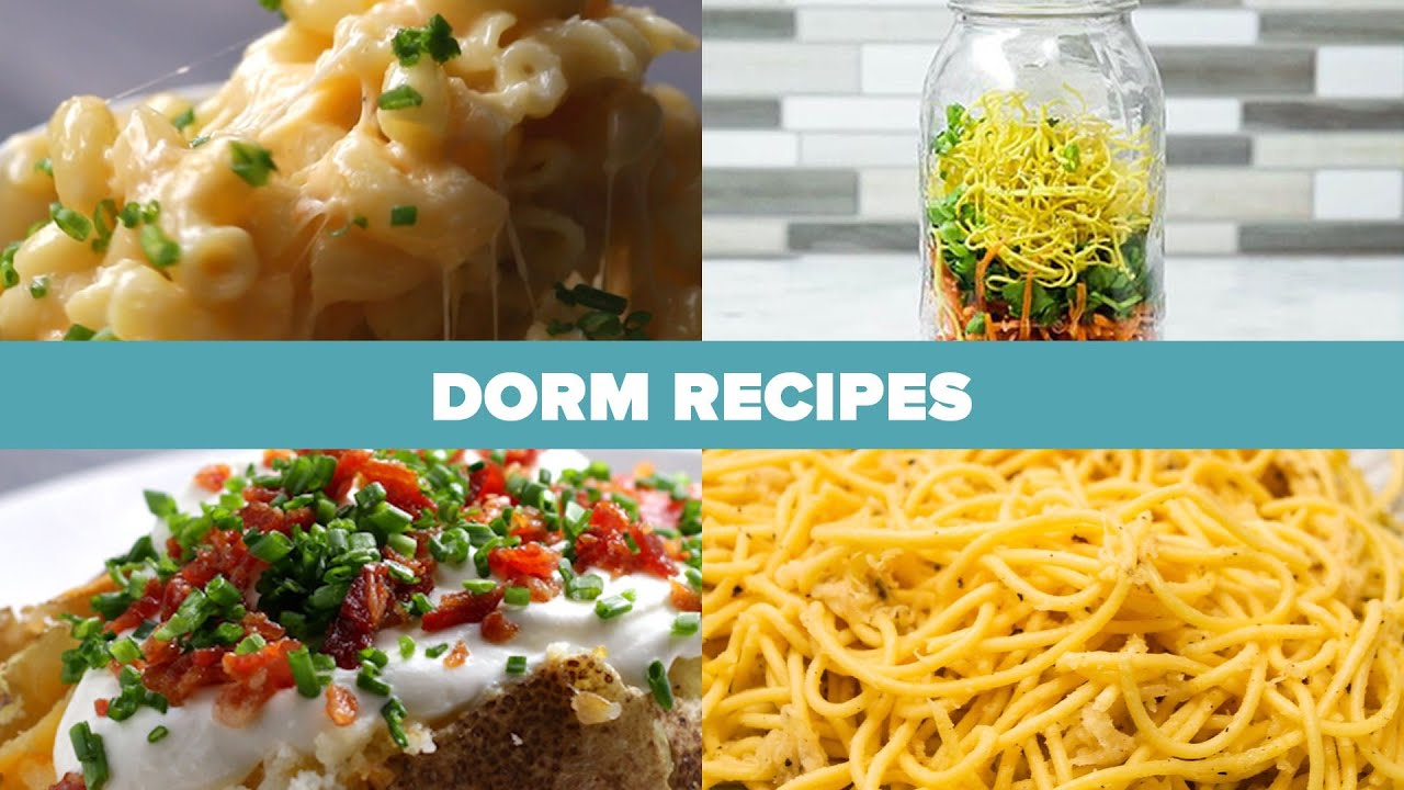 Recipes To Cook In A Dorm
