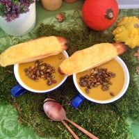 Spiced Pumpkin Soup with a twist...