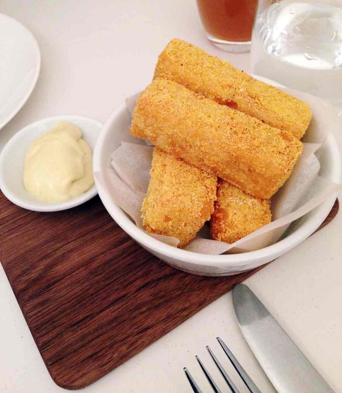 NOPI Polenta Chips