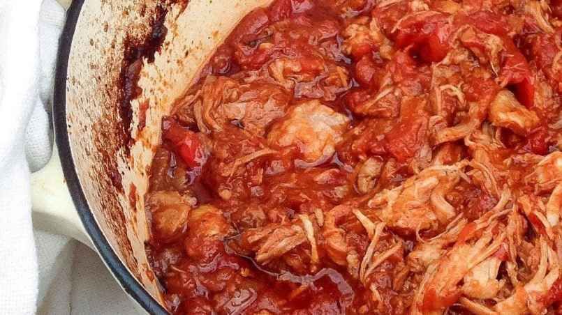 This rich pork ragu has a fantastically indulgent sauce. Serve over pasta, polenta or gnocchi for a perfect weekend dinner.