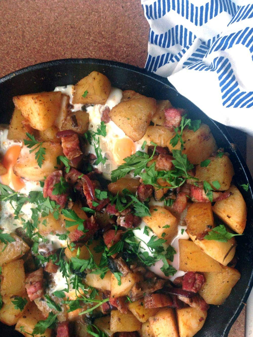 Potato and Bacon Hash 3