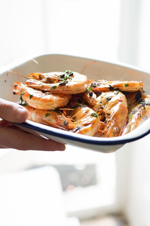 chilli u0026 garlic prawns with easy saffron aioli u2022 the cook report