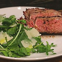 Beef Tagliata with Rib Eye Steak