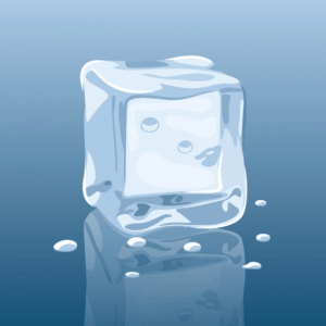 The Cool Ads logo ice cube