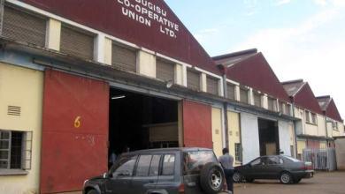 Bugisu Co-operative Union Limited premises in Mbale