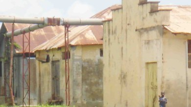 An old Building of Lango Cooperative union in Aboke in Kole District