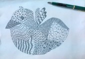 My First Zentangle