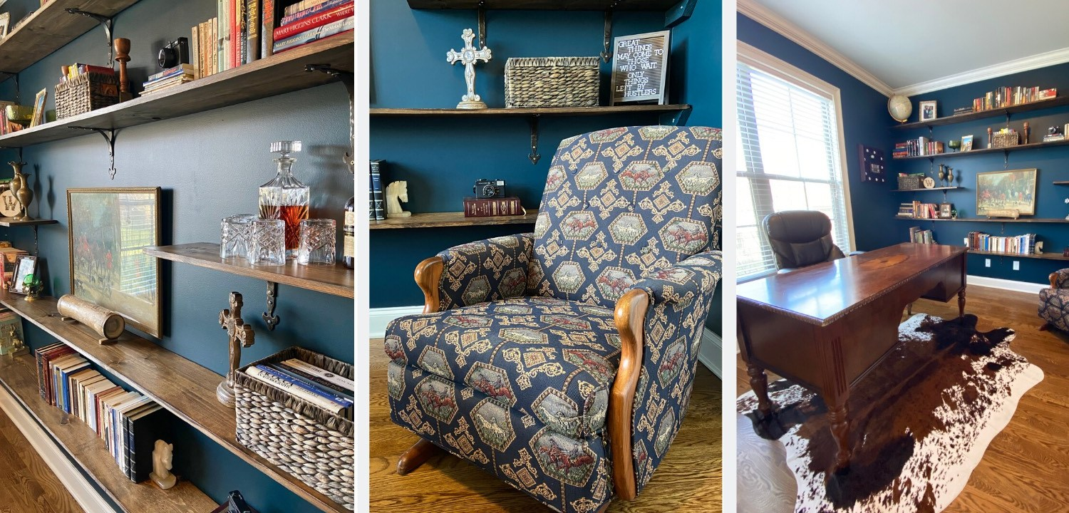 Home Office Makeover 4 Easy Ideas For Organization And Style The Copper Goose