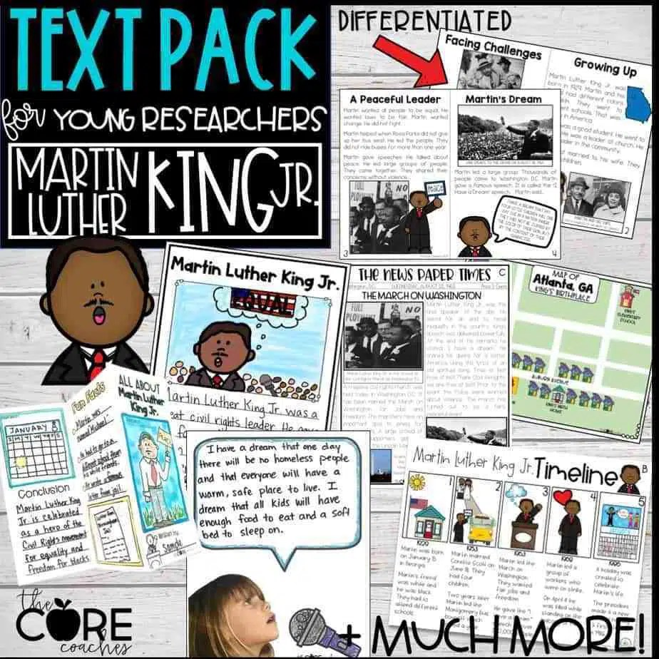 Martin Luther King Jr. Pack