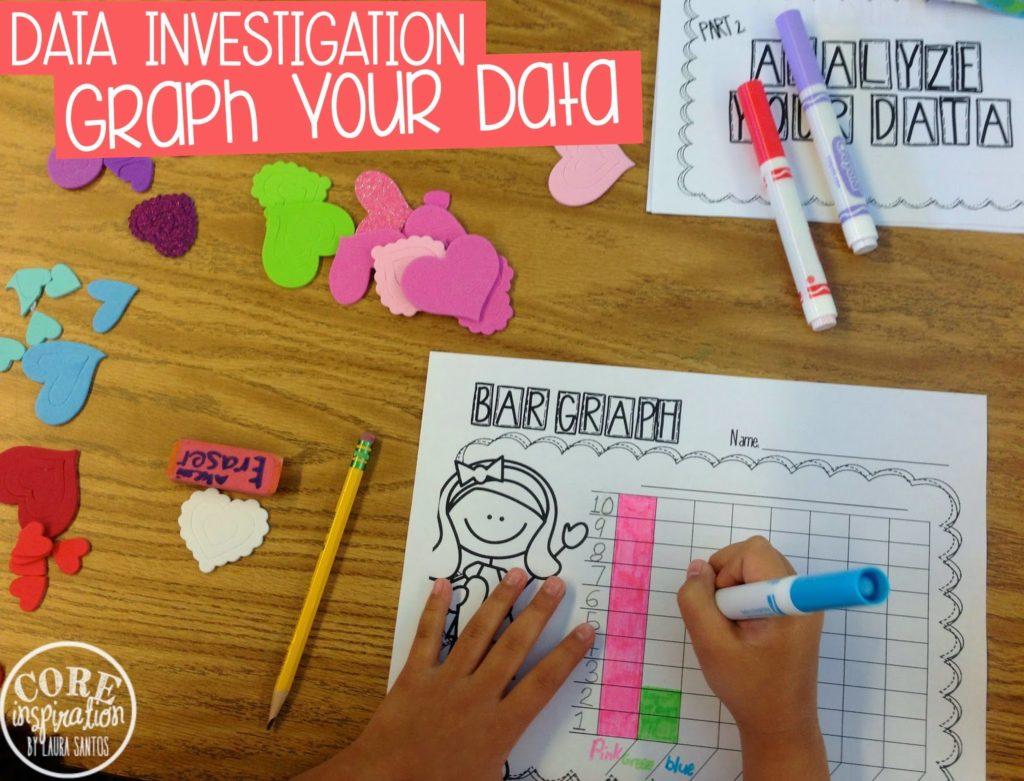 Dataysis Math Investigation Conversation Hearts And