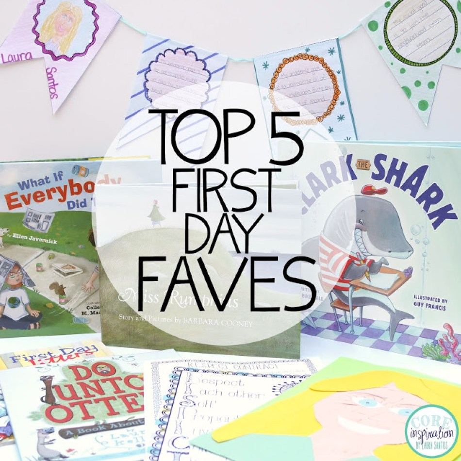 Top Five First Day of School Favorites