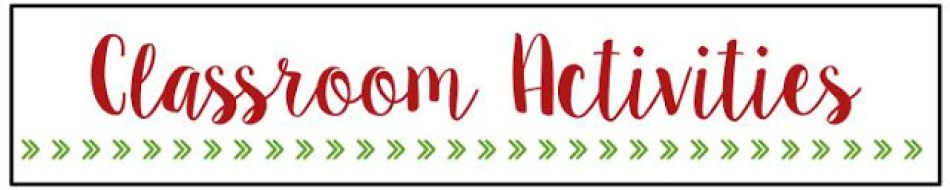Holidays Around the World: Classroom Activities Section Header