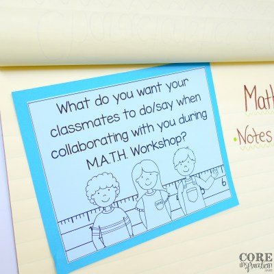 How To Boost Student Independence During M.A.T.H. Workshop With Math Triads