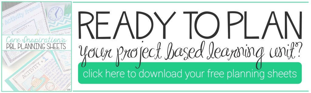 PBL Planning Sheets Download Button