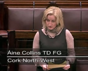 2011-11-16-Áine-Collins-TF-FG-speaking-in-the-Dáil