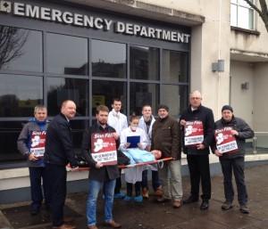 A&E protest Cork City