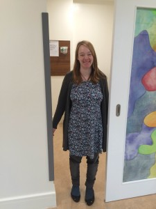 Lena O'Regan, Rosscarbery, Co Cork - the first mum-to-be-treated in the newly refurbished emergency room at Cork University Maternity Hospital