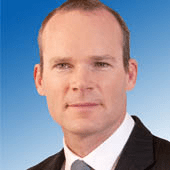 Simon Coveney TD (Fine Gael) lives in Carrigaline, Co Cork and is currently Cork's only Senior Minister
