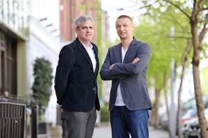 DC   Anthony O'Mara and Marcin Kleczynski of Malwarebytes. Pic: Diane Cusack