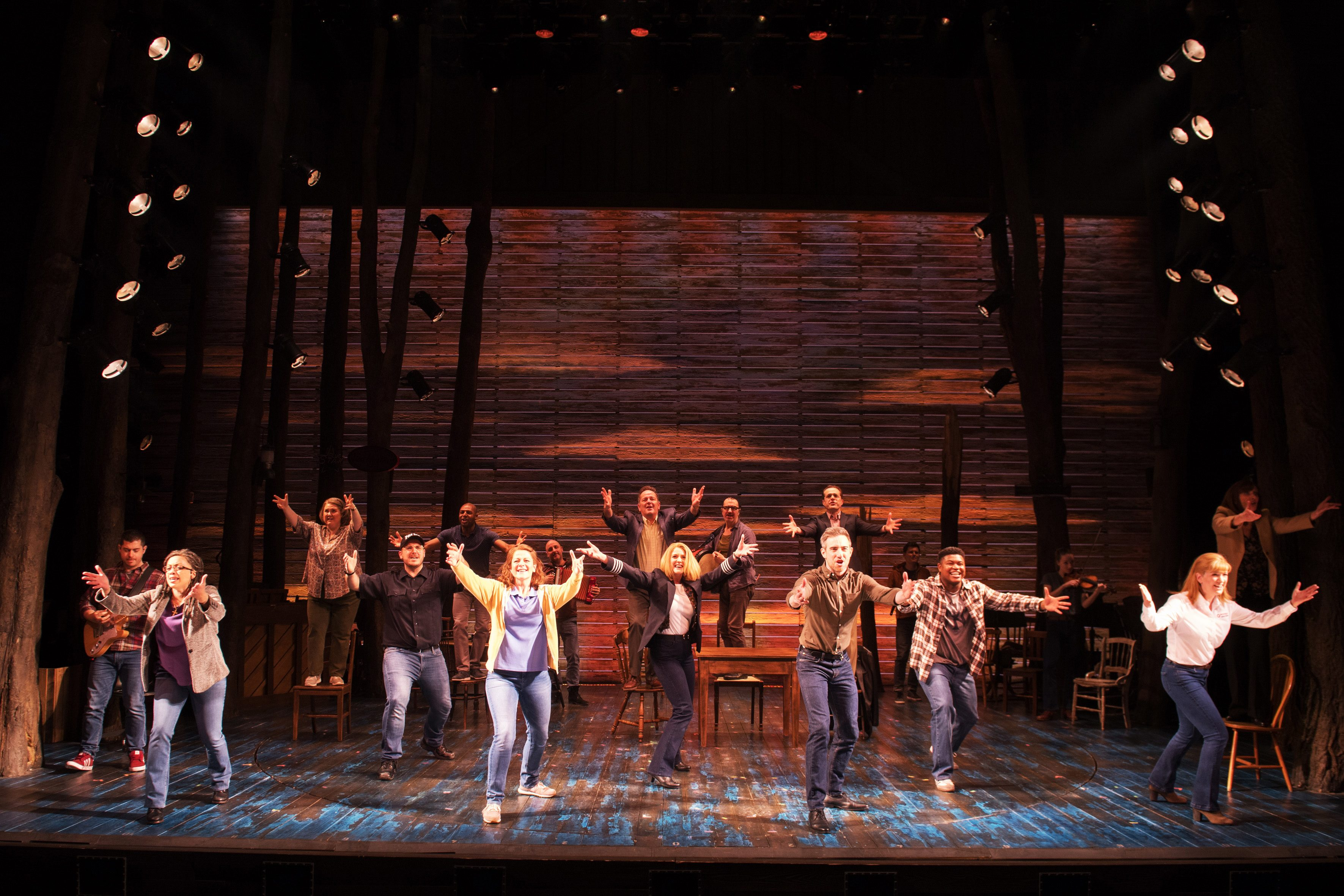 4 The West End company in Come From Away at the Phoenix Theatre 2020 Credit Craig Sugden.jpg