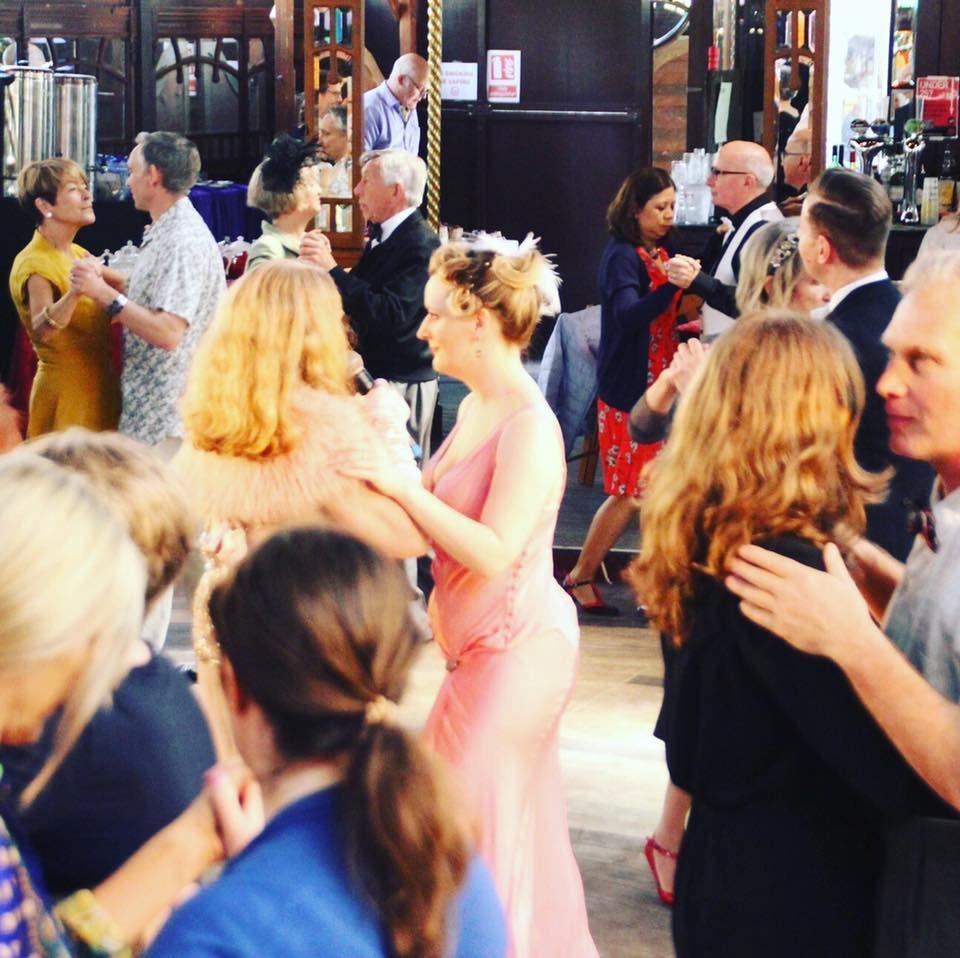 Ragroof Tea Dance Spiegeltent pink ladies.jpg