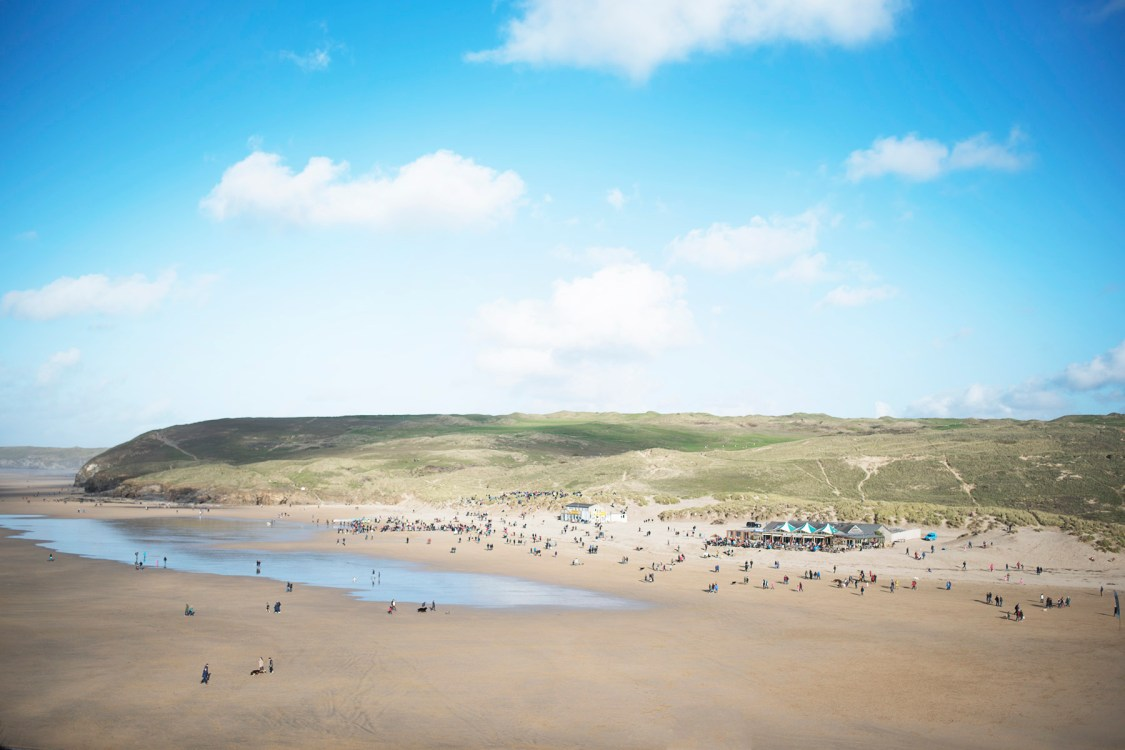 Perranporth Beach | The Cornish Dog