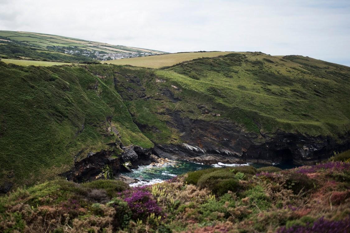 Beeny Cliff near Boscastle | The Cornish Dog
