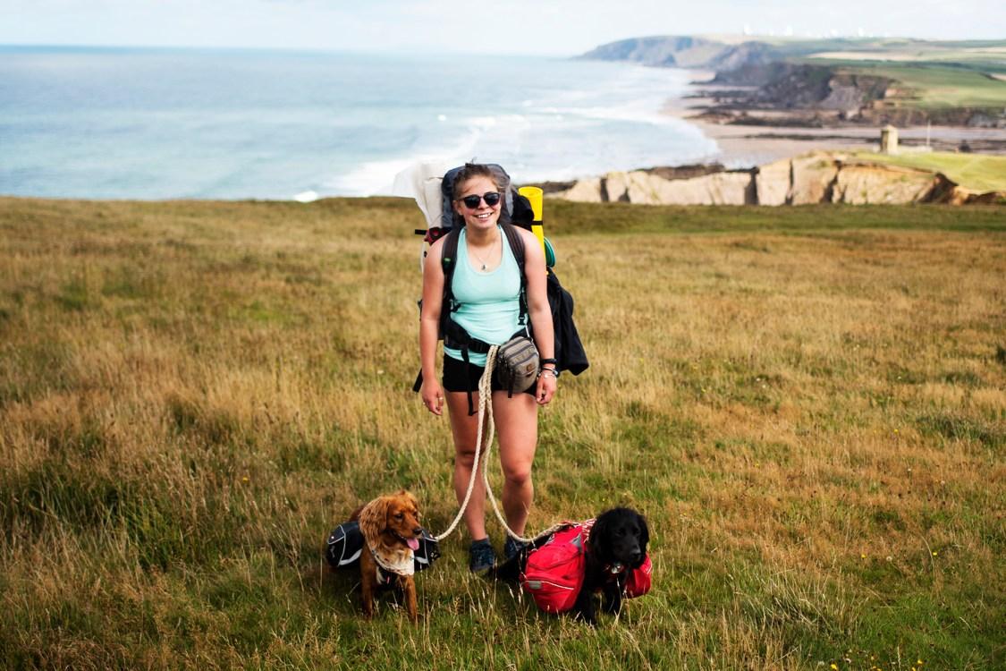 Bude to Trebarwith Strand - The Cornish Dog