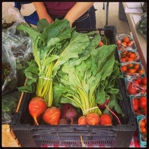 Produce at market (large)