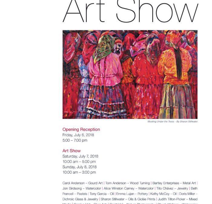15th Annual Pendaries Art Show – Rociada, NM