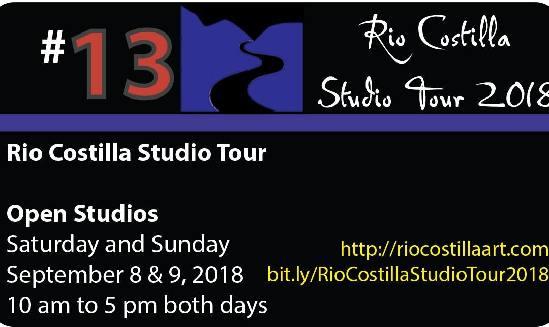 Rio Costilla Studio Tour 2018 – Rio Costilla, NM