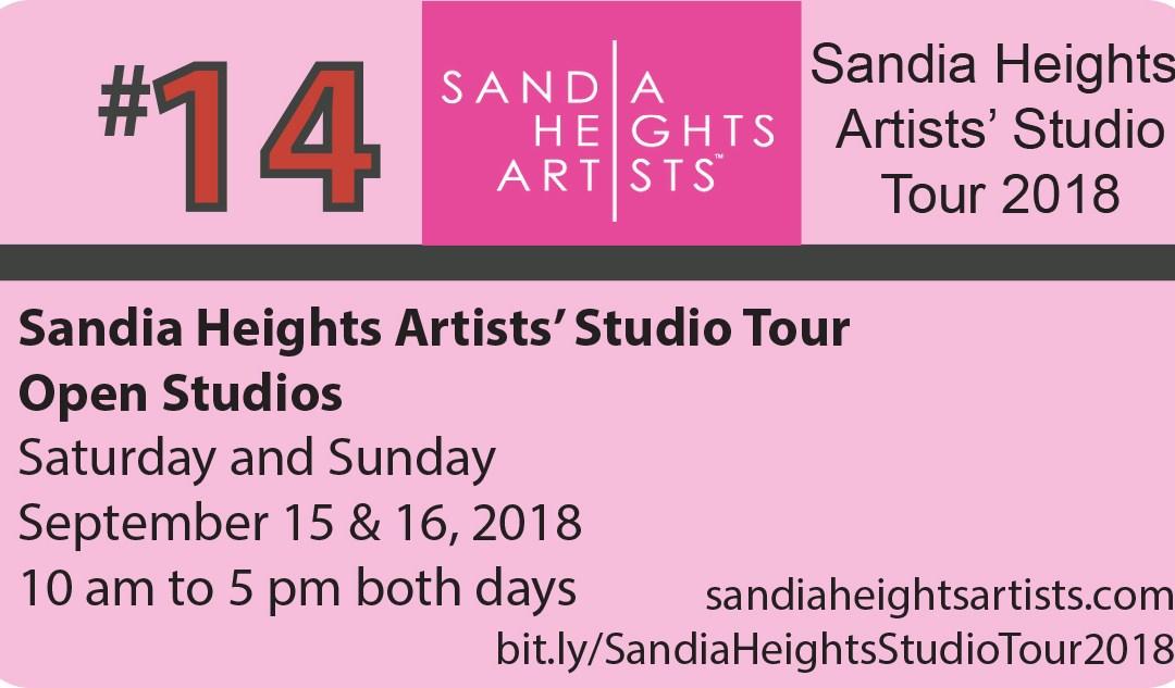 Sandia Heights Studio Tour 2018