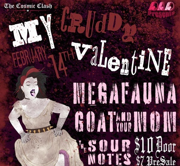 Live music preview: My Cruddy Valentine at Far Out Lounge Feb 14 - The Cosmic Clash